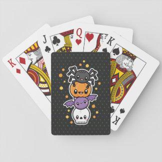 Jogo De Carta Cartões de jogo dos deleites do Dia das Bruxas