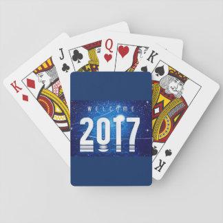 Jogo De Carta Cartões de jogo especiais do ano novo
