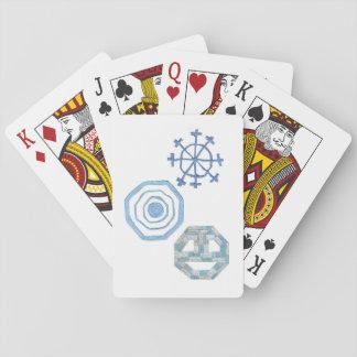 Jogo De Carta Cartões de jogo especiais do floco de neve