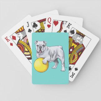 Jogo De Carta Cartões de jogo feitos sob encomenda do buldogue