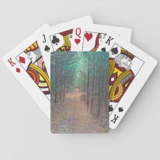 Jogo De Carta Cartões de jogo - foto do cheio do teste padrão da