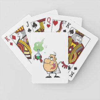 Jogo De Carta Cartões de jogo loucos do cientista