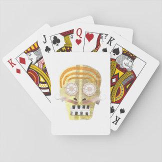 Jogo De Carta Cartões de jogo musicais do crânio