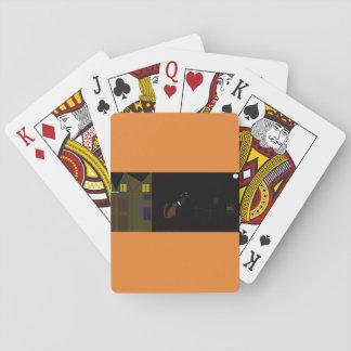 Jogo De Carta cartões legal do póquer do Dia das Bruxas