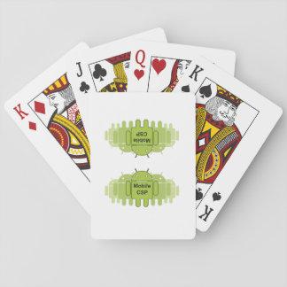Jogo De Carta Cartões móveis do logotipo da comunidade de CSP