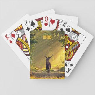 Jogo De Carta Cervos do fanfarrão de Ohio