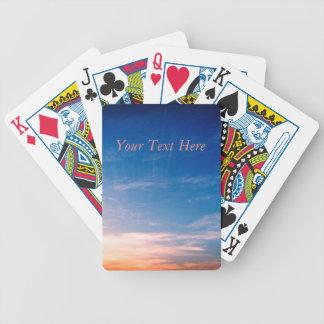 Jogo De Carta Competindo nuvens