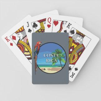 Jogo De Carta Costa Rica - cartões de jogo, caras padrão do
