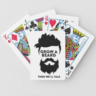 Jogo De Carta Cresça uma barba então que nós falaremos
