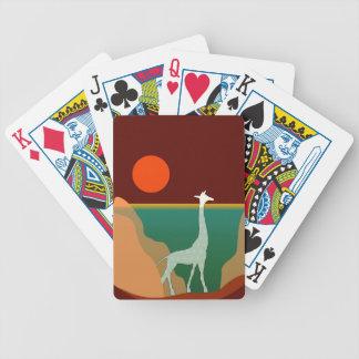 Jogo De Carta Design original do girafa