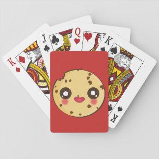 Jogo De Carta Divertimento de Kawaii e cartões de jogo