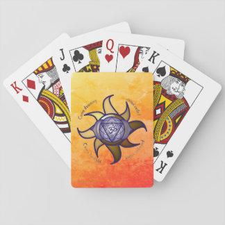 """Jogo De Carta Do """"cartões de jogo da introspecção da ioga"""