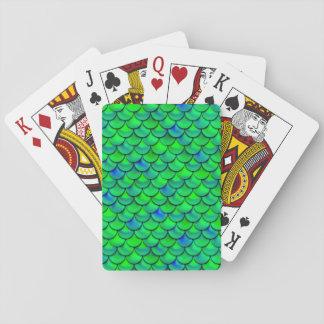 Jogo De Carta Escalas verdes do azul de Falln