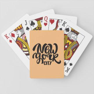 Jogo De Carta Estilo da Nova Iorque
