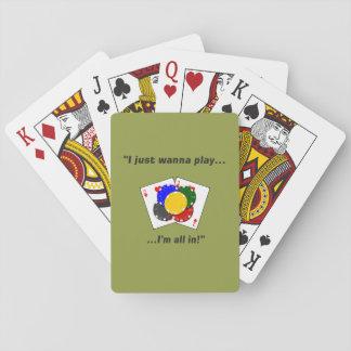 Jogo De Carta Eu apenas quero jogar