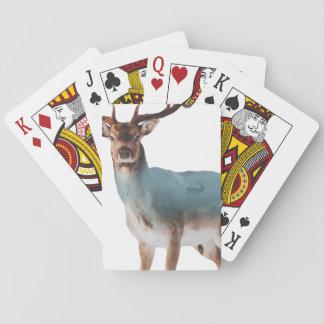 Jogo De Carta Exposição dobro dos cervos