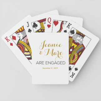 Jogo De Carta Favores personalizados do cartão de jogo do