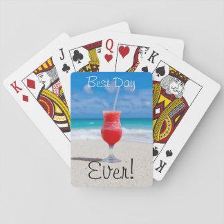 Jogo De Carta Férias ideais da praia