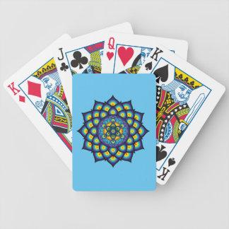 Jogo De Carta Flor da vida com cubo de Metatron