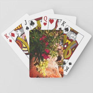 Jogo De Carta Flores tropicais
