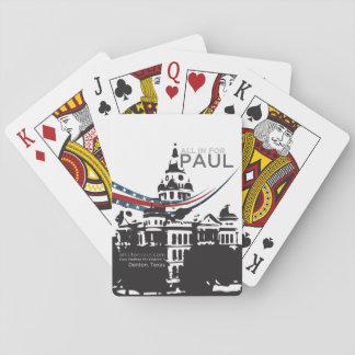 Jogo De Carta Grupo de cartão de Paul