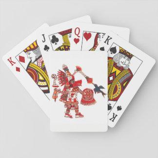 Jogo De Carta Guerreiro asteca do shaman da dança