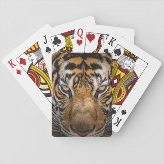 Jogo De Carta Impressão animal do tigre