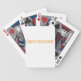 Jogo De Carta Laranja de Tennessee
