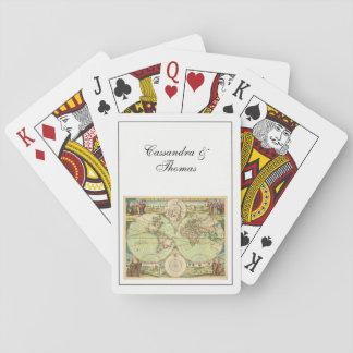 Jogo De Carta Mapa do mundo antigo #4