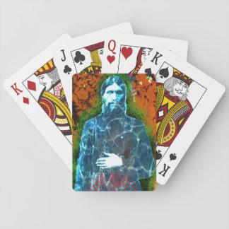 Jogo De Carta Monge louca do russo de Grigori Rasputin místico