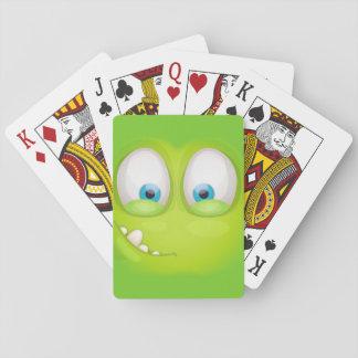 Jogo De Carta Muglee Greeny - cartões de jogo grandes do olho