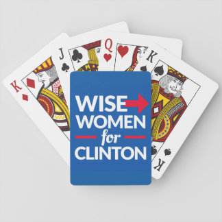 Jogo De Carta MULHERES SÁBIAS PARA cartões de jogo de CLINTON -