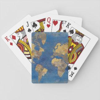 Jogo De Carta Mundo dourado