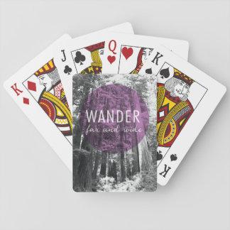 Jogo De Carta Nas madeiras | vagueiam citações distantes e