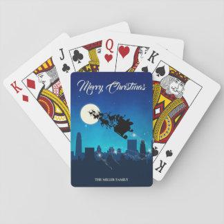 Jogo De Carta Natal do trenó de Papai Noel - plataforma de