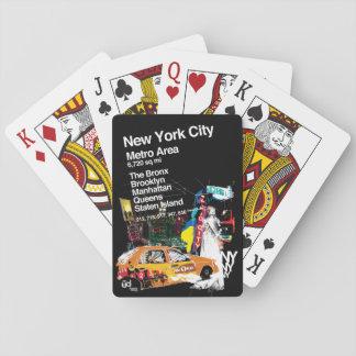 Jogo De Carta Nova Iorque do metro