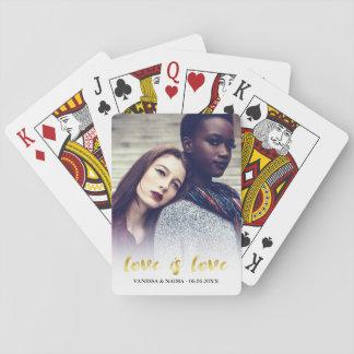 Jogo De Carta O amor é foto da folha de prova do roteiro do ouro