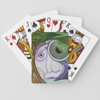 Jogo De Carta O céu Eyes a plataforma da arte de cartões de jogo