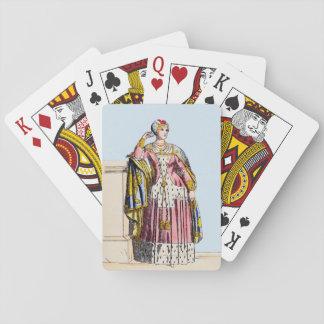 Jogo De Carta O ~ TRAJA a senhora do ~A ~ 1350s de Rank~ Edward