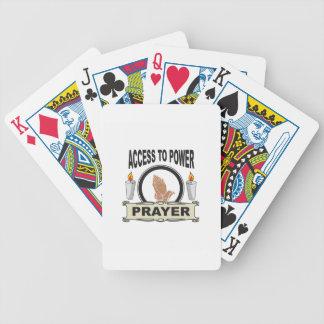 Jogo De Carta oração o acesso ao poder