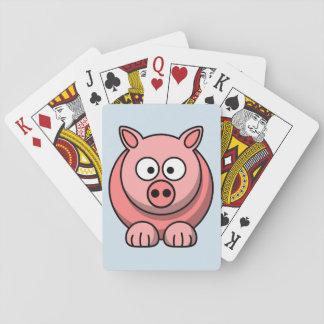 Jogo De Carta Personalize o porco bonito
