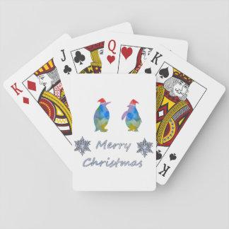 Jogo De Carta Pinguins do Natal
