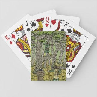 Jogo De Carta Pisco de peito vermelho em Sherwood