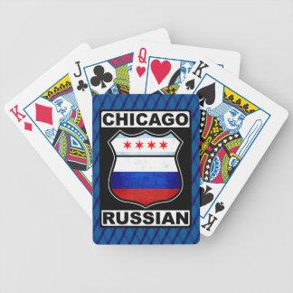 Jogo De Carta Plataforma de cartão americana do russo de Chicago