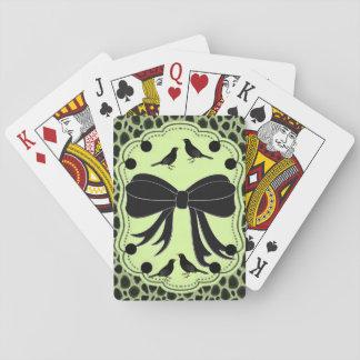 Jogo De Carta Plataforma de cartão do jogo do leopardo