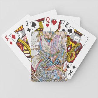 Jogo De Carta Plataforma de cartão valente do jogo do cavaleiro