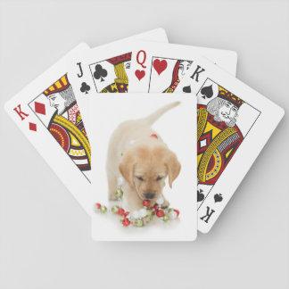 Jogo De Carta Playtime do filhote de cachorro do feriado