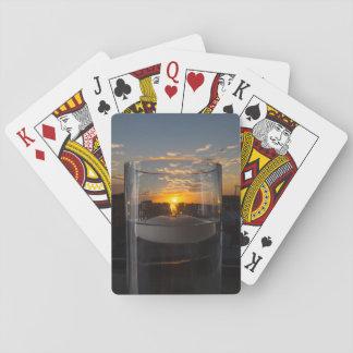 Jogo De Carta Por do sol da luz de vela