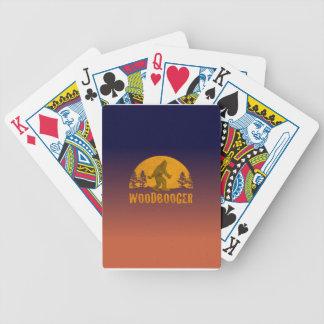 Jogo De Carta Por do sol do vintage de Woodbooger