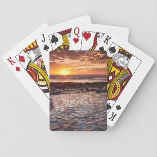 Jogo De Carta Por do sol na praia, Califórnia